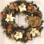 Рождественские венки - фото 21