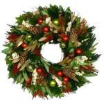 Рождественские венки - фото 24