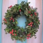 Рождественские венки - фото 27