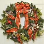 Рождественские венки - фото 31