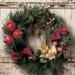 Рождественские венки - фото 34