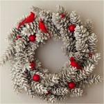 Рождественские венки - фото 41