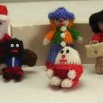 Вязаные новогодние игрушки - фото 14