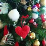 Вязаные новогодние игрушки - фото 25