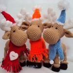 Вязаные новогодние игрушки - фото 27