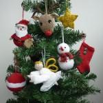 Вязаные новогодние игрушки - фото 29