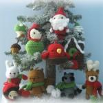 Вязаные новогодние игрушки - фото 3