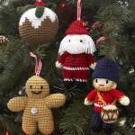 Вязаные новогодние игрушки - фото 30
