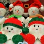 Вязаные новогодние игрушки - фото 36