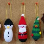 Вязаные новогодние игрушки - фото 6