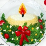 Новогоднее украшение блюд - фото 2