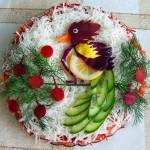 Новогоднее украшение блюд - фото 12