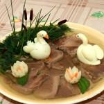 Новогоднее украшение блюд - фото 13