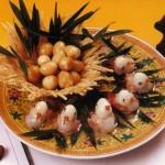 Новогоднее украшение блюд - фото 18