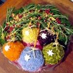 Новогоднее украшение блюд - фото 3