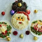 Новогоднее украшение блюд - фото 21