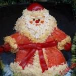 Новогоднее украшение блюд - фото 23
