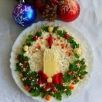 Новогоднее украшение блюд - фото 24