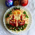 Новогоднее украшение блюд - фото 25
