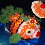 Новогоднее украшение блюд - фото 27