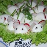 Новогоднее украшение блюд - фото 28