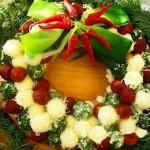 Новогоднее украшение блюд - фото 29