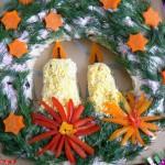 Новогоднее украшение блюд - фото 30
