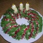 Новогоднее украшение блюд - фото 31