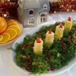 Новогоднее украшение блюд - фото 8