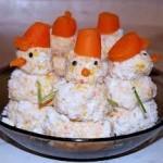 Новогоднее украшение блюд - фото 10