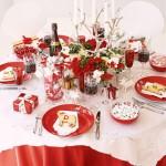 Сервировка новогоднего стола - фото 11