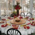 Сервировка новогоднего стола - фото 16