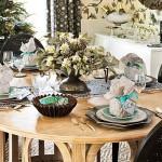 Сервировка новогоднего стола - фото 17