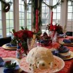 Сервировка новогоднего стола - фото 18
