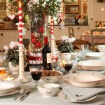 Сервировка новогоднего стола - фото 19