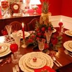 Сервировка новогоднего стола - фото 20