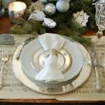 Сервировка новогоднего стола - фото 22