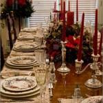 Сервировка новогоднего стола - фото 23