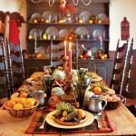 Сервировка новогоднего стола - фото 25