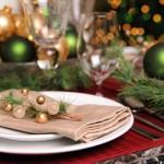 Сервировка новогоднего стола - фото 26