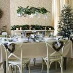 Сервировка новогоднего стола - фото 27