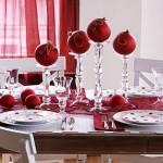 Сервировка новогоднего стола - фото 29