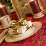 Сервировка новогоднего стола - фото 30