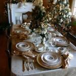 Сервировка новогоднего стола - фото 31