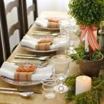 Сервировка новогоднего стола - фото 36