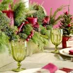 Сервировка новогоднего стола - фото 38