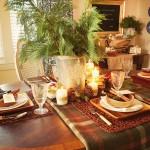 Сервировка новогоднего стола - фото 39