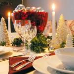Сервировка новогоднего стола - фото 40