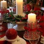 Сервировка новогоднего стола - фото 41