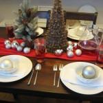 Сервировка новогоднего стола - фото 42
